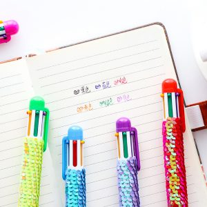 Creative stationery six-color ballpoint pen – Ball Pen